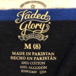 Faded Glory Shirts & Tops - Faded Glory Size M Youth Boys Shirts - Various 4pk